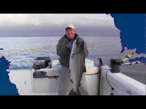 2011 Action Packed Salmon Fishing Video In HD!