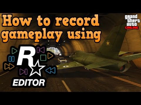 GTA online guides - How to record gameplay with Rockstar editor