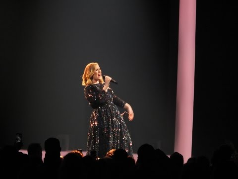 Adele concert, Tele2 Arena Stockholm, 29th April 2016