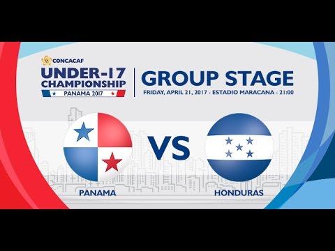 CU17PAN: Panama vs Honduras