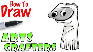 How to Draw Arts and Crafters | Baldi