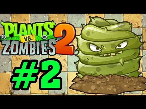 Plants Vs Zombies 2 - Hoa Quả Nổi Giận 2: CÂY CHUYÊN PHÁ BIA MỘ (GRAVE BUSTER ) #2