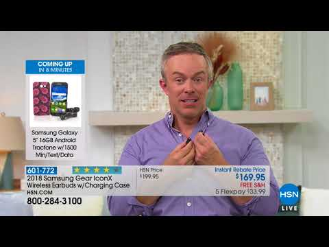 HSN   Electronic Connection Featuring Samsung 08.28.2018 - 05 AM