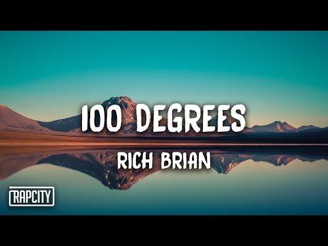 Rich Brian – 100 Degrees (Lyrics)