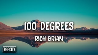 Download Rich Brian - 100 Degrees (Lyrics)
