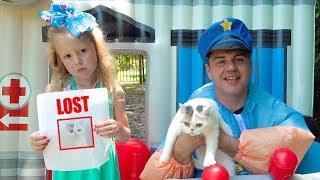 Nastya và cảnh sát điều tra cuộc sống bí mật của thú cưng