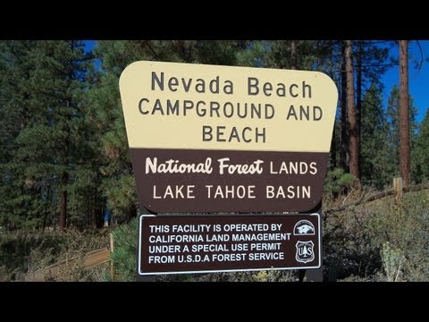 Nevada Beach Campground Lake Tahoe Nv Review Youtube