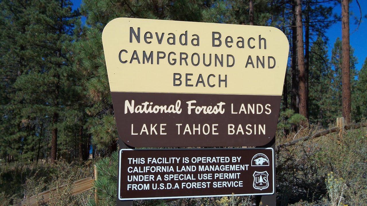 Nevada Beach Campground Lake Tahoe Nv Review