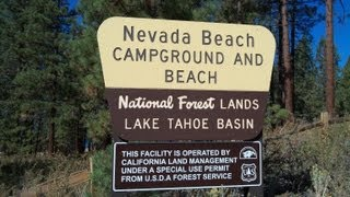 Nevada Beach Campground, Lake Tahoe NV - Review
