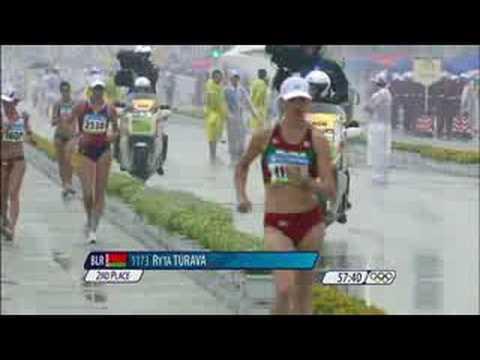 Athletics Women's 20KM Race Walk Beijing 2008 Summer Olympic Games