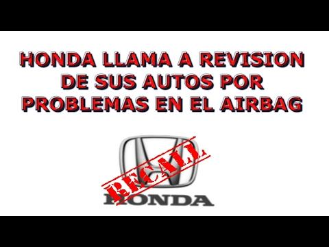 HONDA LLAMA A REVISION DE SUS AUTOS POR FALLA DE SEGURIDAD, Y LOS DEMAS????
