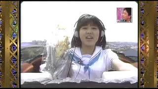 歌っている所は18歳当時の映像、トーク部分は2005年4月です。
