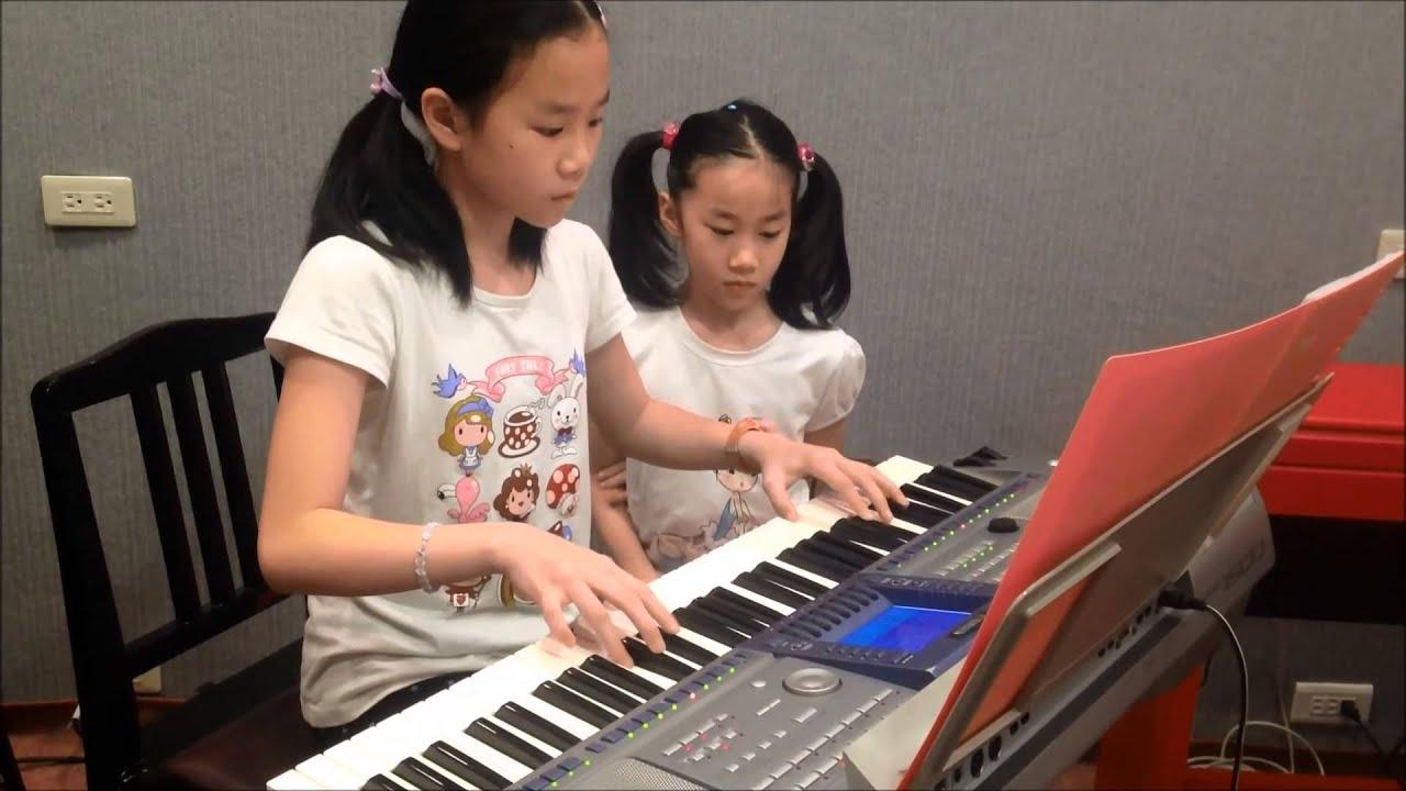 青春修煉手冊~TFBOYS 電子琴演奏:黃意婷 - YouTube