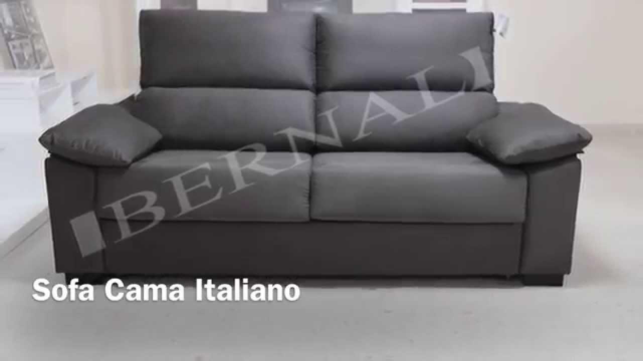 Sofa leyre cama italiano youtube - Sofas cama comodos ...