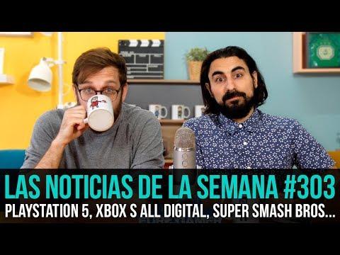 ¡La semana en 10 min #303! Playstation 5, Xbox S All Digital, Super Smash Bros. Ultimate...