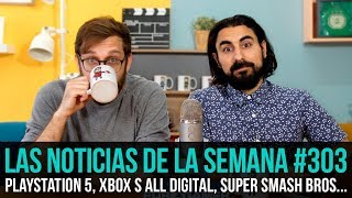 ¡La semana en 10 min #303! Playstation 5, Xbox S All Digital, Super Smash Bros. Ultimate...
