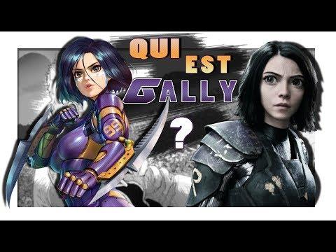 Qui est GALLY de GUNNM, ALITA BATTLE ANGEL ?