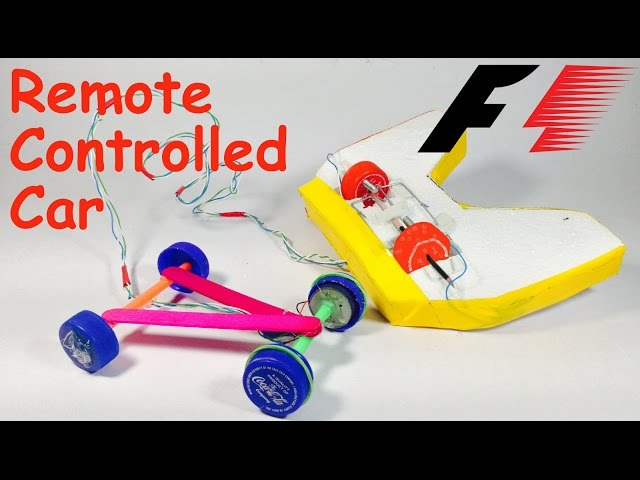 How to Make a REMOTE CONTROL CAR at Home | DIY