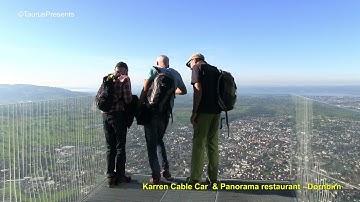 Karren Cable Car and Panorama restaurant Dornbirn Austria