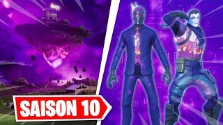 THE CUBE ARRIVE BIENTOT ON THE MAP OF FORTNITE ... (NEW DARK PACK)
