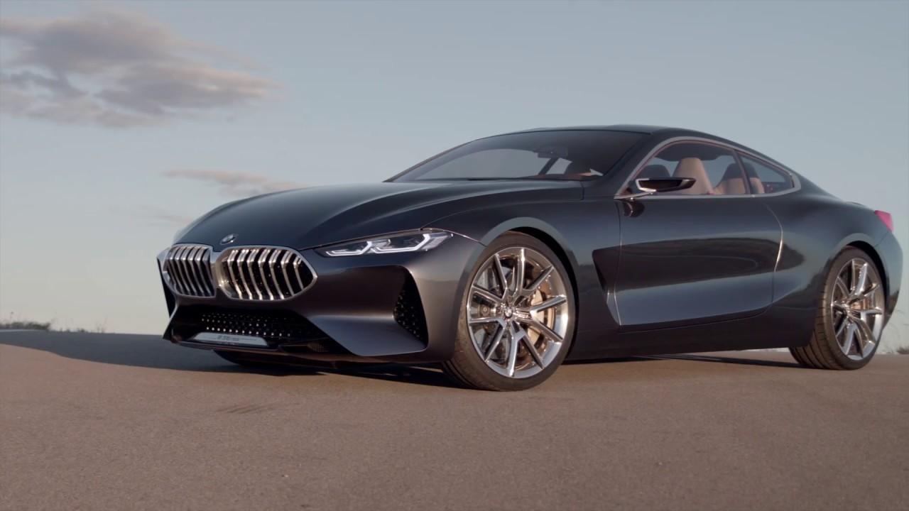 BMW 8 Series Concept Film  YouTube