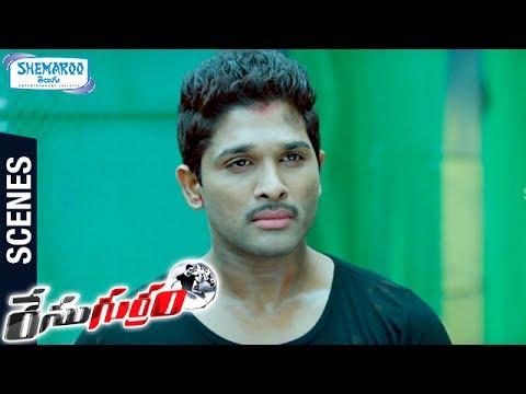 Allu Arjun Gets Powers   Climax Scene   Race Gurram Telugu Movie Scenes   Shruti Haasan