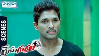 Allu Arjun Gets Powers | Climax Scene | Race Gurram Telugu Movie Scenes | Shruti Haasan