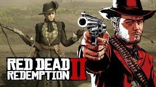 """Мэддисон играет в Red Dead Redemption 2 - """"ГОРЯЧАЯ ЖЕНЩИНА"""""""