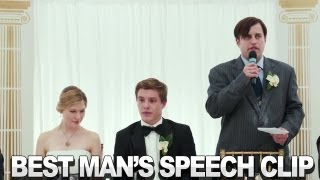 A Few Best Men - Best Man's Speech Clip
