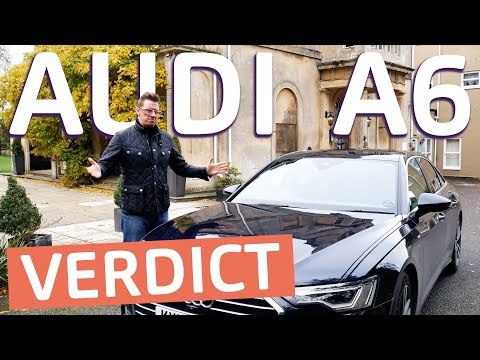 Newest Audi A6 Review | The Full Lowdown, Driving, Tech, Improvements Covered. Plug-In Hybrid.