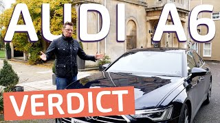 Newest Audi A6 Review   The Full Lowdown, Driving, Tech, Improvements Covered. Plug-In Hybrid.
