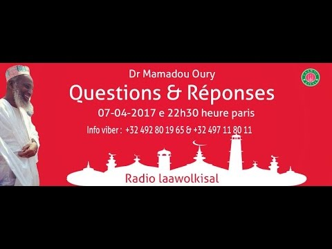 Dr. Mamadou Oury: Questions & Réponses #10 radio laawol kisal