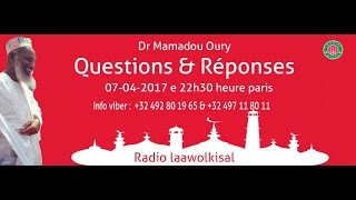 Baixar Dr. Mamadou Oury: Questions & Réponses #10 radio laawol kisal