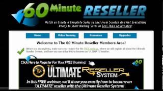 60 Minute Reseller Review | 60 Minute Reseller Bonus Preview - John Thornhill