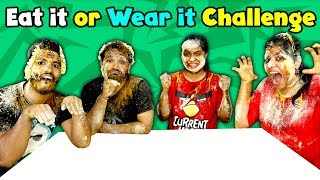 Eat It or Wear It Challenge Part 2 | Extreme Challenge | Part 2 of 2