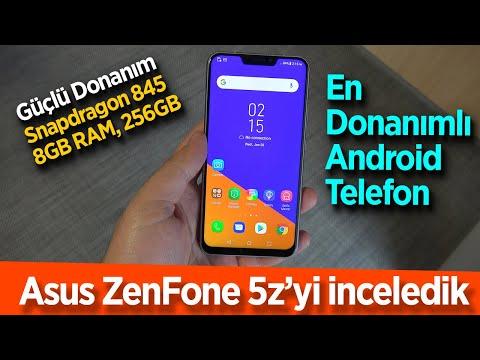 Asus ZenFone 5z'yi inceledik: En donanımlı Android
