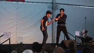 Taylor Rodriguez & Jacob Roman sing 'Rip It Up' Elvis Week 2017
