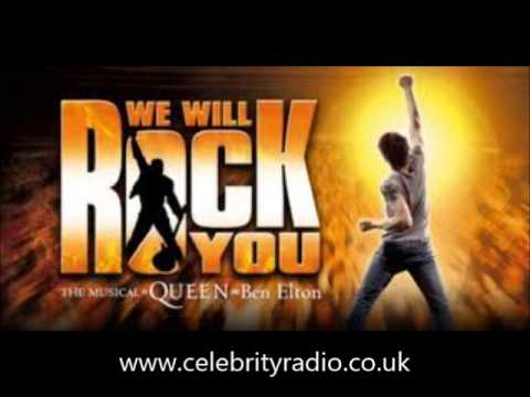 We Will Rock You Worldwide Arena Tour UK - Nottingham / NEC - Kevin Kennedy Pop - Curly Watts