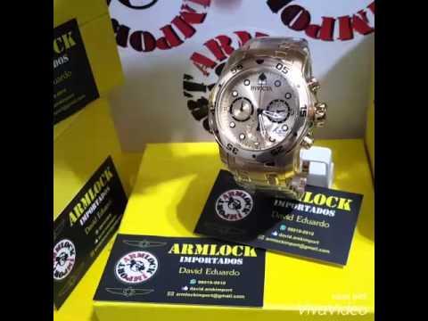 deb013c71b5 Relógio Invicta Pro Diver 21924 (Armlock import) - YouTube