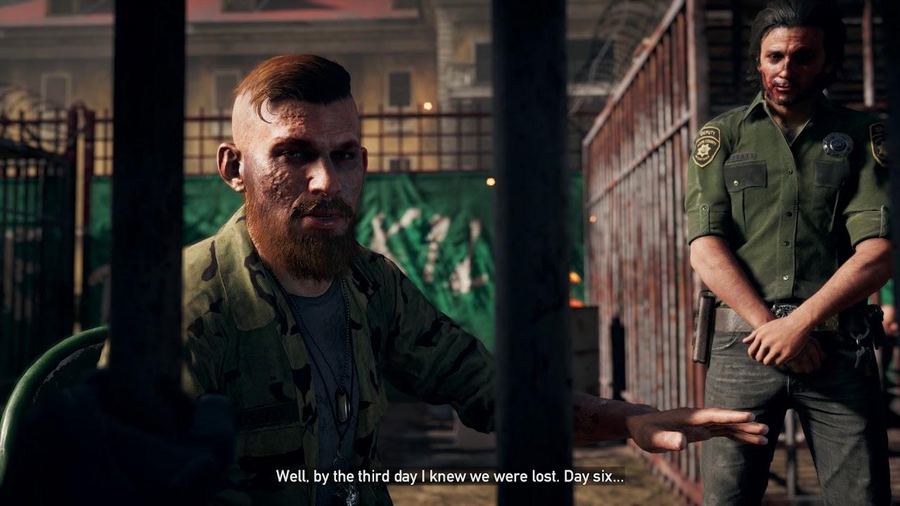 Far Cry 5 Sacrifice The Weak Jacob Seed I Was In Iraq 10 Days Deputy Pratt Cutscene 2018 Youtube