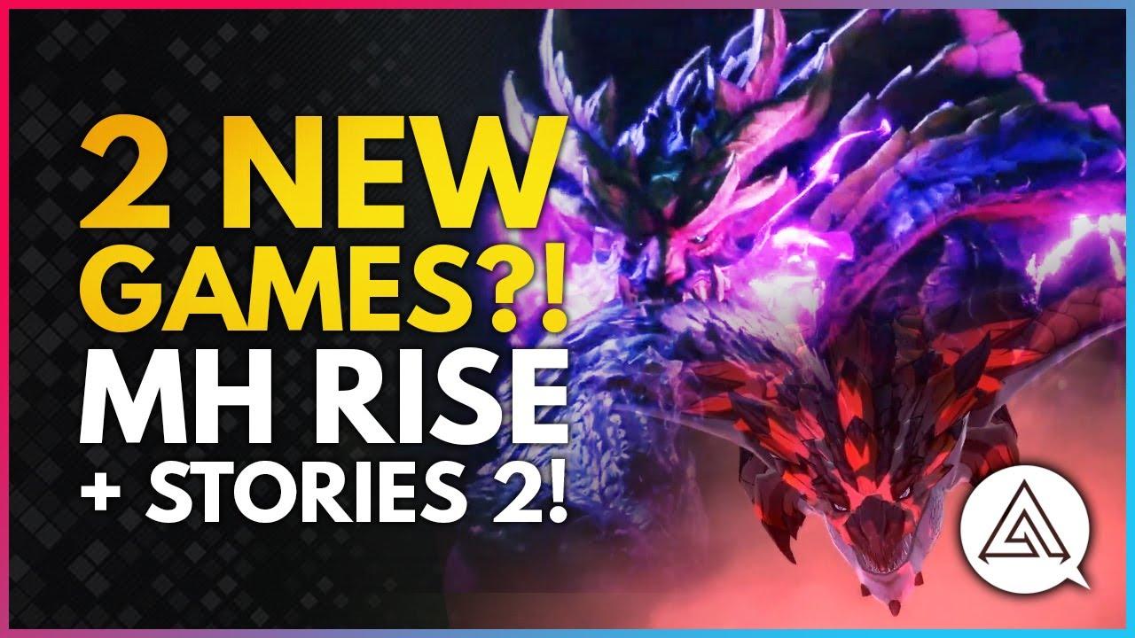 2 NEW MONSTER HUNTER GAMES ANNOUNCED?! Monster Hunter Rise & Stories 2 Trailer Reaction! thumbnail