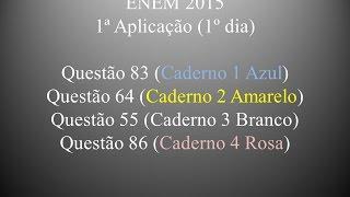 ENEM 2015 Questão 83 (Caderno 1 Azul)