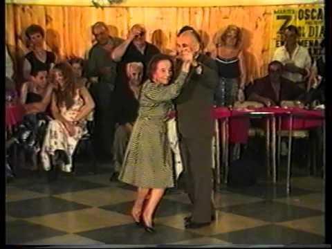 Carmencita Calderon Juan Averna Disarli Homenaje al Cachafaz Glorias  Argentinas de Mataderos