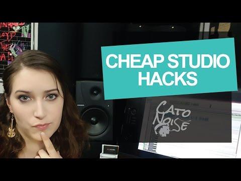 Affordable Home Studio: Recording Studio Hacks