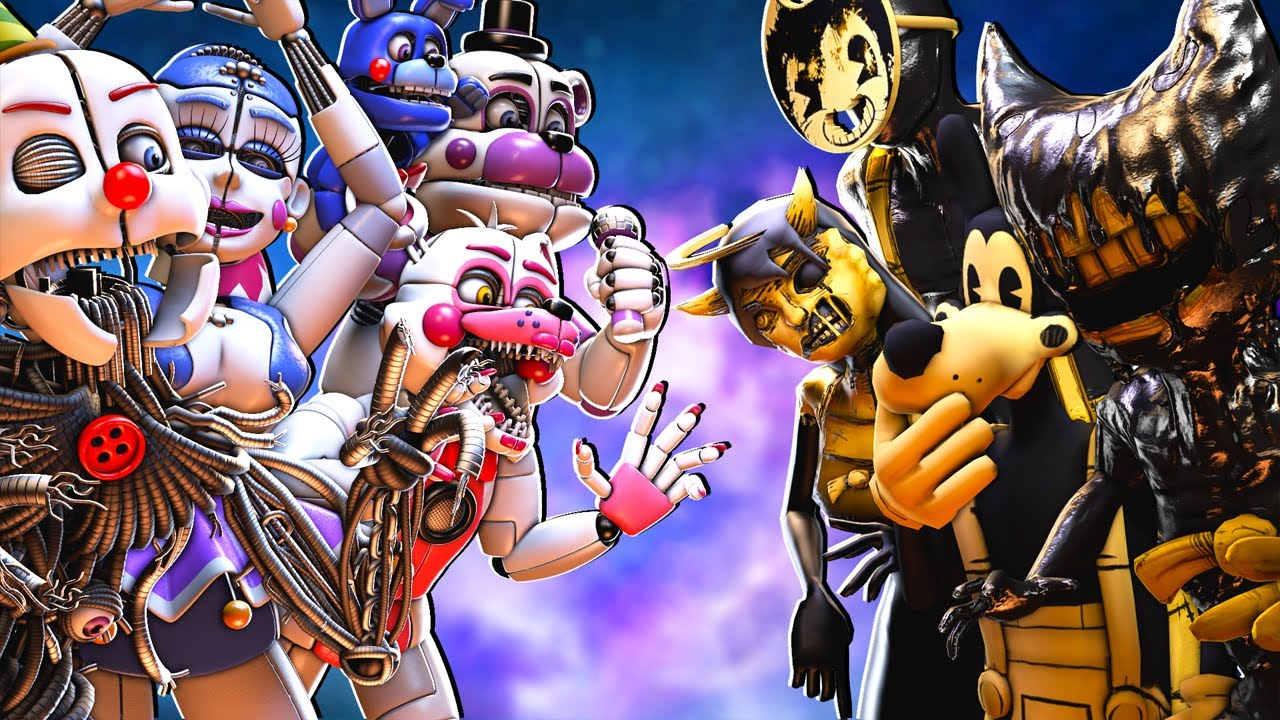 Bendy And The Ink Machine vs Sister Location!