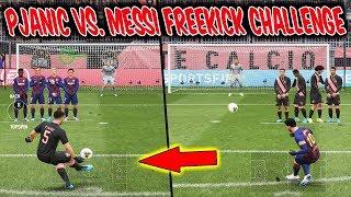 Der unmögliche MESSI Freistoß vs. PJANIC! - Fifa 20 Freekick Challenge Ultimate Team