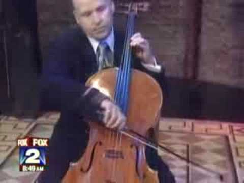 Robert deMaine Concert Cellist