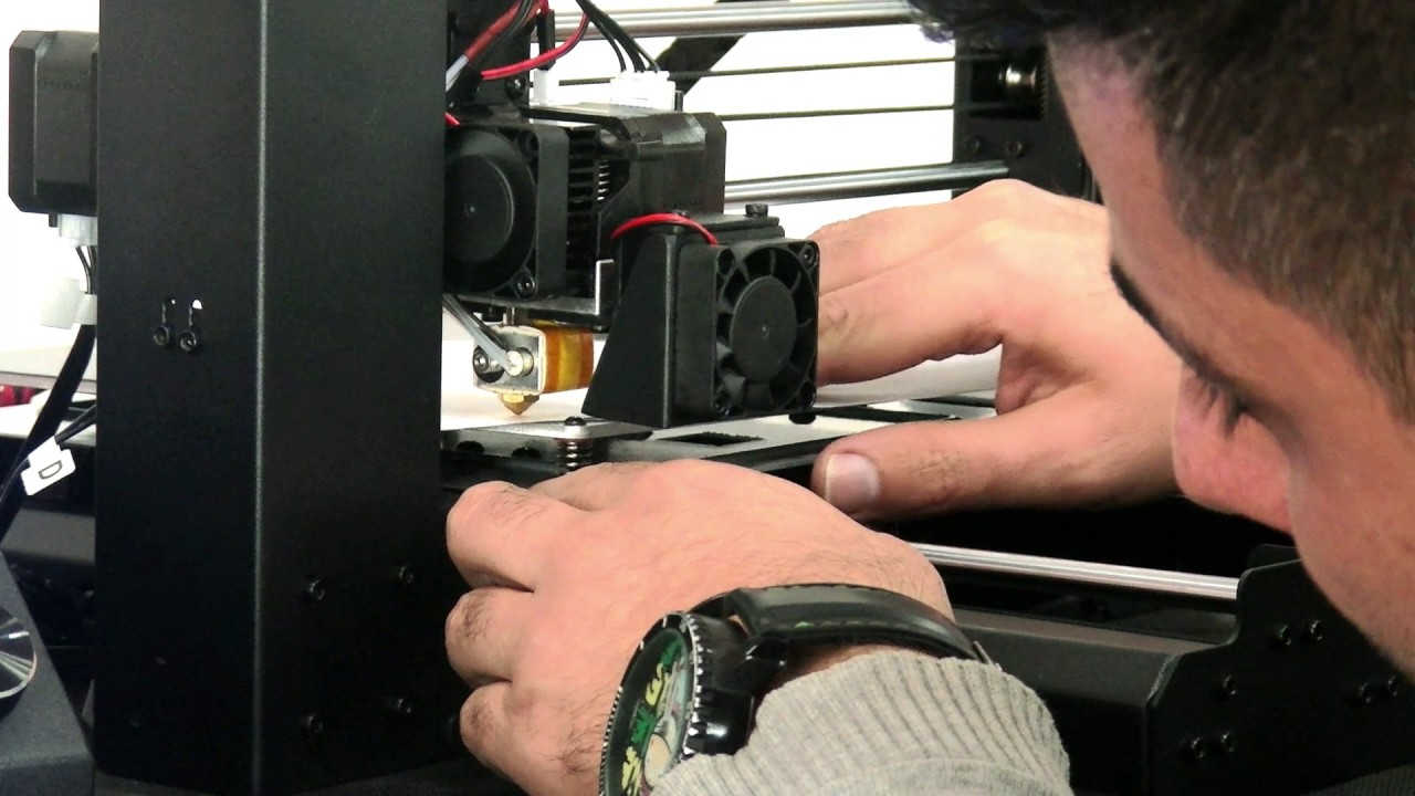 How to install the wanhao Duplicator  i3V2.1 printer?