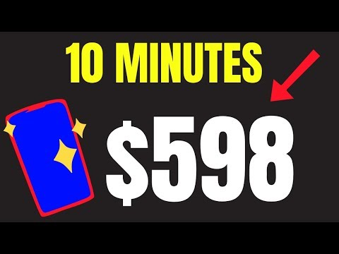 Earn $598 Again and Again in 10 Mins (Make Money Online FAST)
