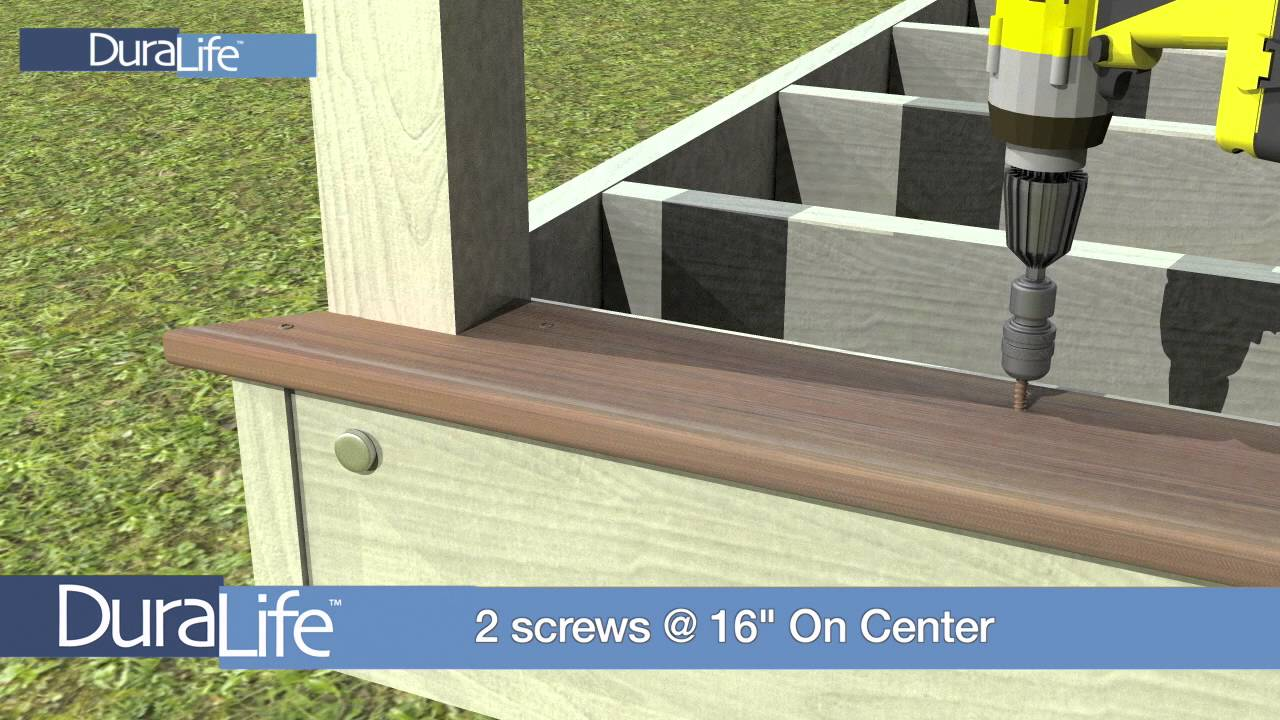 How To Install Composite Deck Railing Mycoffeepot Org